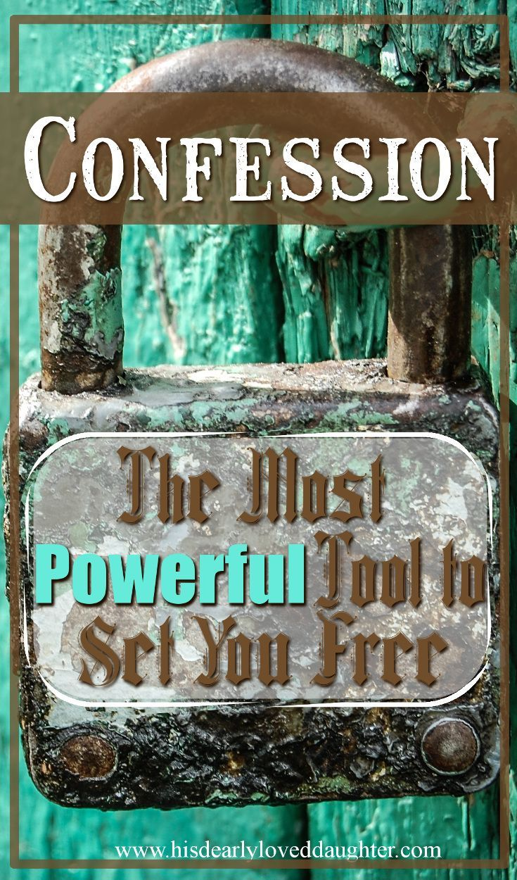 Confession: The Most Powerful Tool To Set You Free #HisDearlyLovedDaughter #truth #Confession #tellthetruth #lies #nomorelies #confess