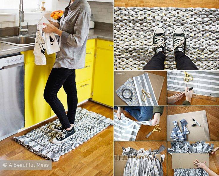 17 migliori idee su Tappeti Fai Da Te su Pinterest ...