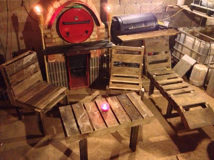 Muebles de Pallets!  Muebles Pallets  Pinterest