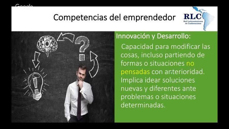 31/Octubre. Jorge Guevara (El Salvador). Competencias del Emprendedor