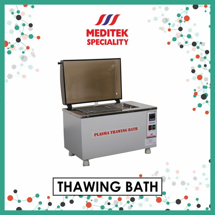 Meditek Speciality is pleased to offer you our reliable Thawing Bath tabletop equipment, that is completely micro-controlled. The apparatus has the capacity to swiftly thaw plasma at 37 ºC, for the prospect of recovering (AHF) or cryoprecipitate ant hemophilic factor. The machine comes with an audio-visual digital alarm, to detect even the mildest of temperature fluctuations.  #meditekspeciality #thawingbath #medicalequipment #industry Visit - http://www.meditekspeciality.com