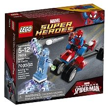 """LEGO Super Heroes - Spider-Trike contre Electro (76014) - Lego - Toys""""R""""Us"""