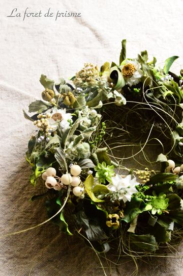 #While-away in the Woods ... #woodland #wreath