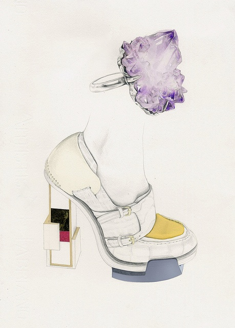 balenciaga shoes by natalia sanabria