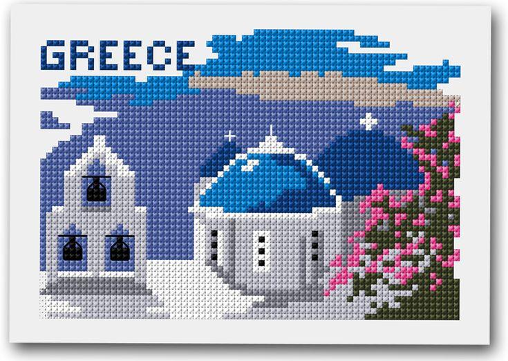 Destination vacance avec DMC - La Grèce. En cette période de vacances, faites participer votre entourage : les enfants, les tontons, les tata, les papi, les mami qui ont de merveilleux souvenirs à évoquer.