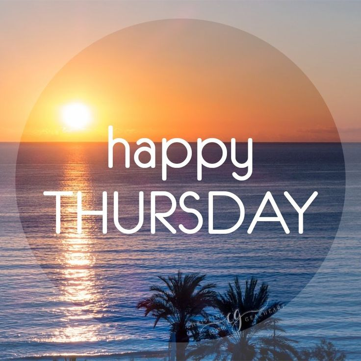 Happy Thursday #happythursday sunset ocean happy thursday