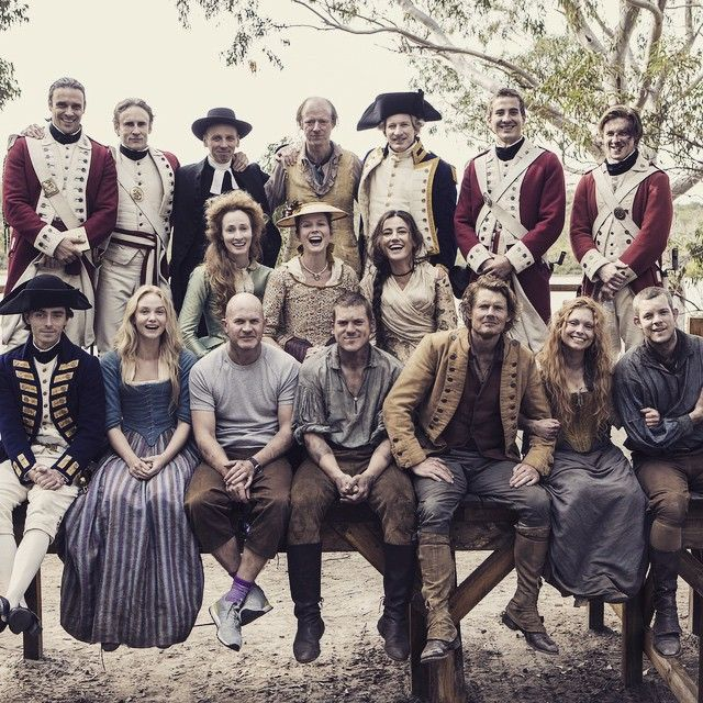 """What an ensemble! #Banished 9pm March 5th #BBC2"""
