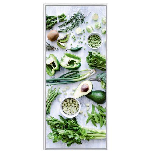 Deursticker Groenten | Een deursticker is precies wat zo'n saaie deur nodig heeft! YouPri biedt deurstickers zowel mat als glanzend aan en ze zijn allemaal weerbestendig! Verkrijgbaar in verschillende afmetingen.   #deurstickers #deursticker #sticker #stickers #interieur #interieurprint #interieurdesign #foto #afbeelding #design #diy #weerbestendig #groenten #groente #voedsel #eten #groen #gezond