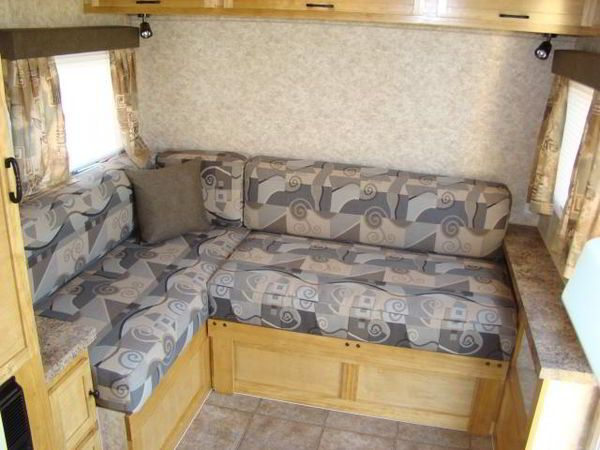 See this amazing DIY camper trailer that was built from the ground up from a Rockwood pop-up camper. All for a budget for $4,500. A must see.......