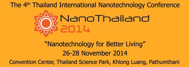 Nano Thailand 2014, Bangkok. 26-28 November 2014