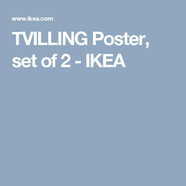 TVILLING Poster, set of 2 - IKEA