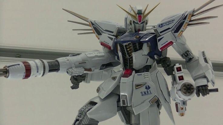 METAL BUILD - Gundam F91 ガンダムF91 -Three Different Set Ups in One Display...