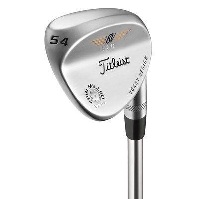 Titleist Golf Vokey Sm4 Tour Chrome 54 Sand Wedge Stiff Steel Value 11 Bounce
