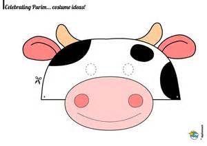 cow mask printable - Bing images