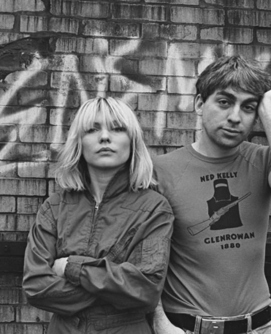 Debbie Harry and Chris Stein photographed by Allan Tannenbaum - 1980
