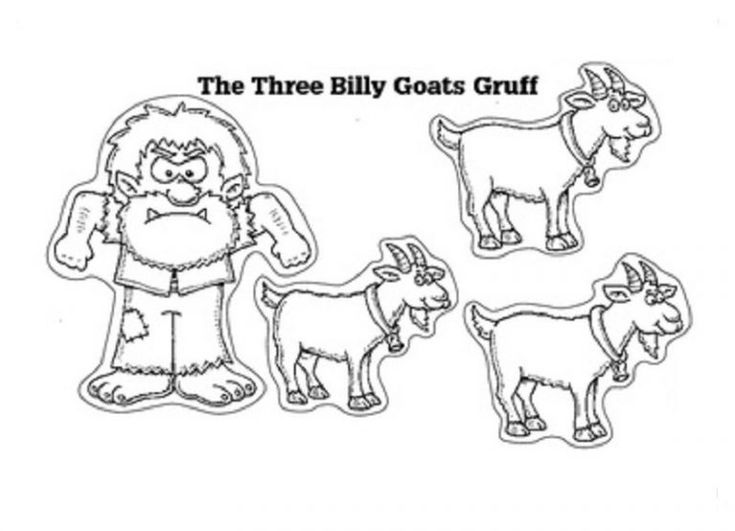 Three Billy Goats Gruff Worksheets Best in 2020 (met