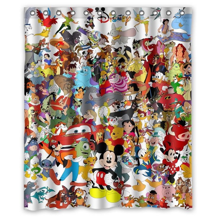 1000 Ideas About Mickey Mouse Shower Curtain On Pinterest