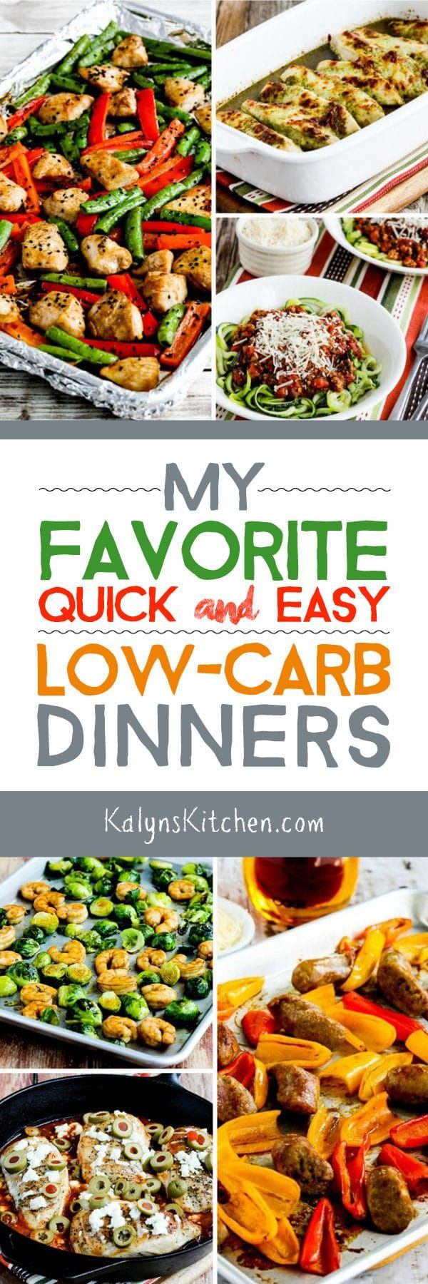 On Friday we share low-carb recipes you might like to try over the weekend, and this weekend I know a lot of people are hunkering down with a new or newly resumed low-carb eating resolve. So here's a round-up of My Favorite Quick-and-Easy Low-Carb Dinners to welcome to New Year! Check out Recipe Round-Ups for …
