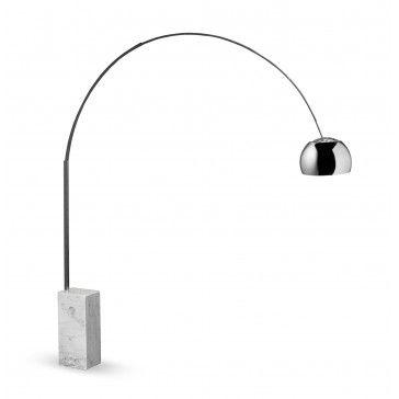 Curva Floor Lamp: replica of Arco Floor Lamp