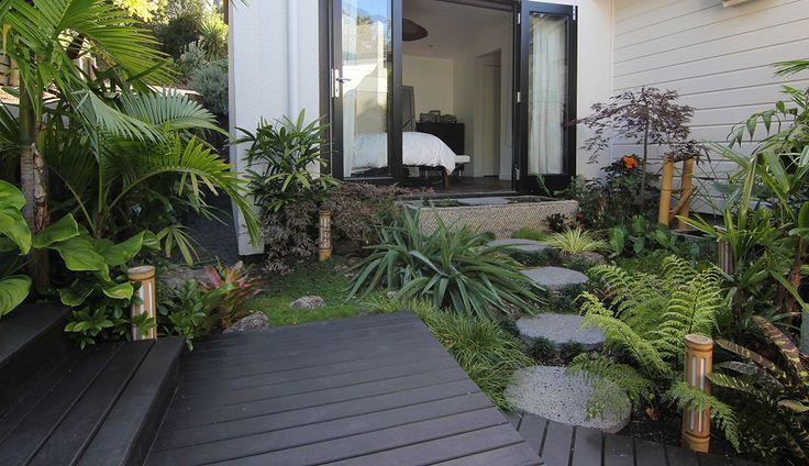 small sub tropical garden - Google Search