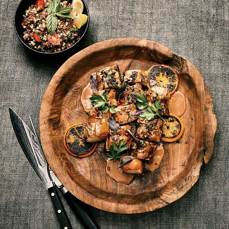 Citrus-Chile-Marinated Pork Tenderloin