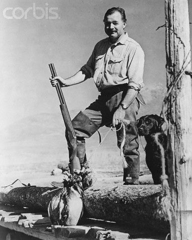The great Ernest Hemingway