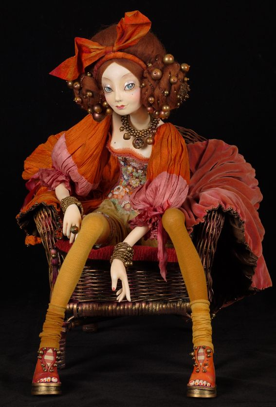 Tamara Pivnyuk Art Dolls / Dolls / Mara
