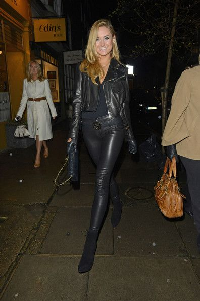 Celebs at the Imitate Modern Gallery in London