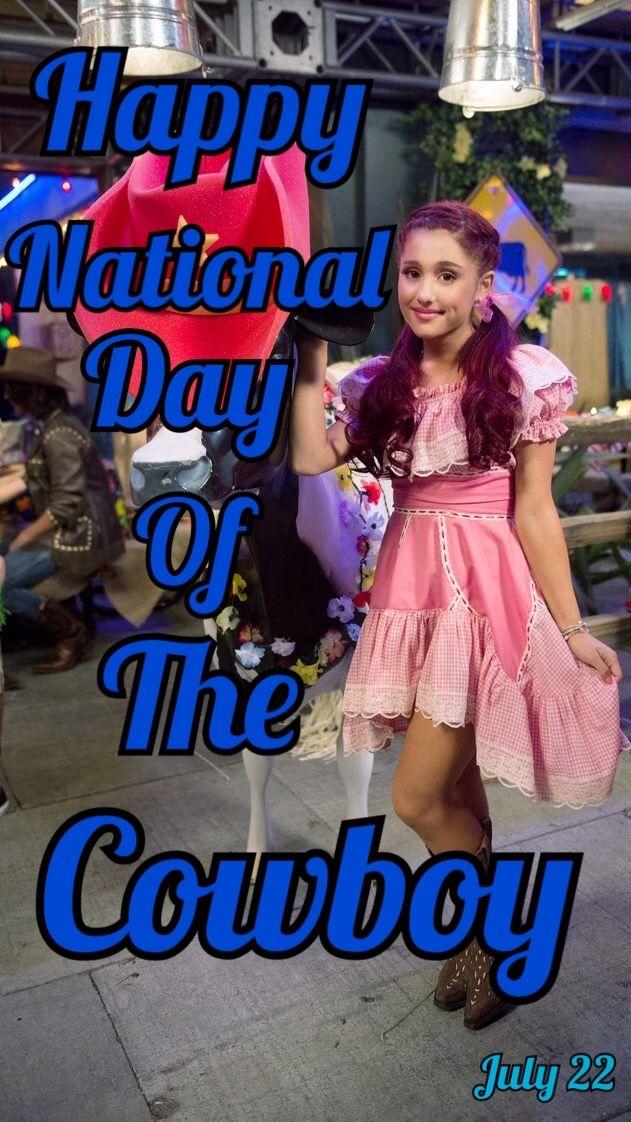Happy National Day Of The Cowboy  // Ariana Grande // @sabaribello