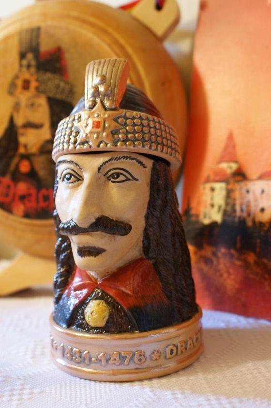 Cana de colectie (halba cu capac) - Dracula - Vlad Tepes