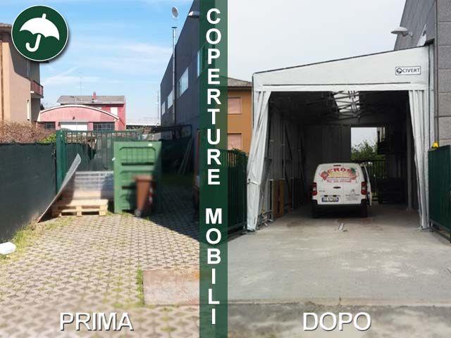 #coperturemobili #pvc laterali a #Novara #settoreortofrutta  http://www.civert.it/coperture-mobili-magazzino-ortofrutta-piemonte/