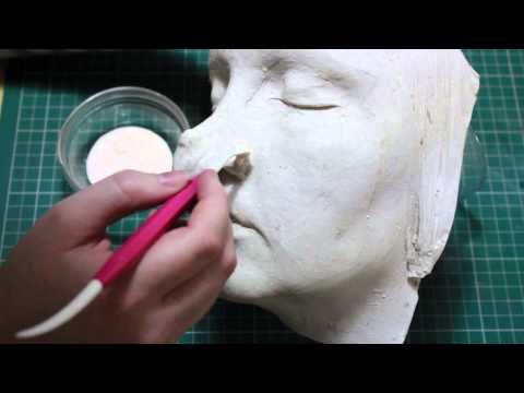 DIY: Witches Nose Prosthetic - YouTube
