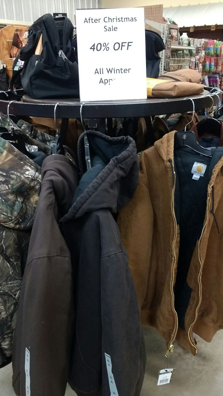 Did you see the weather forecast for this weekend? Winter isn't over yet. Come get your winter outerwear while supplies last. #cohuttacountrystore