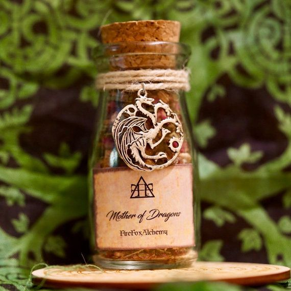 Mother of Dragons Daenerys Targaryen Loose Incense FireFoxAlchemy™ POP Incense