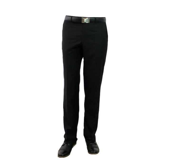 Men. Claudio Lugli - plain black trouser. RRP £50.00 pinned by Wyatt Shoe Shop