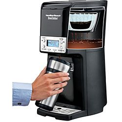 Hamilton Beach 48463R Brewstation Summit 12-Cup Programmable Coffeemaker With Travel Mug