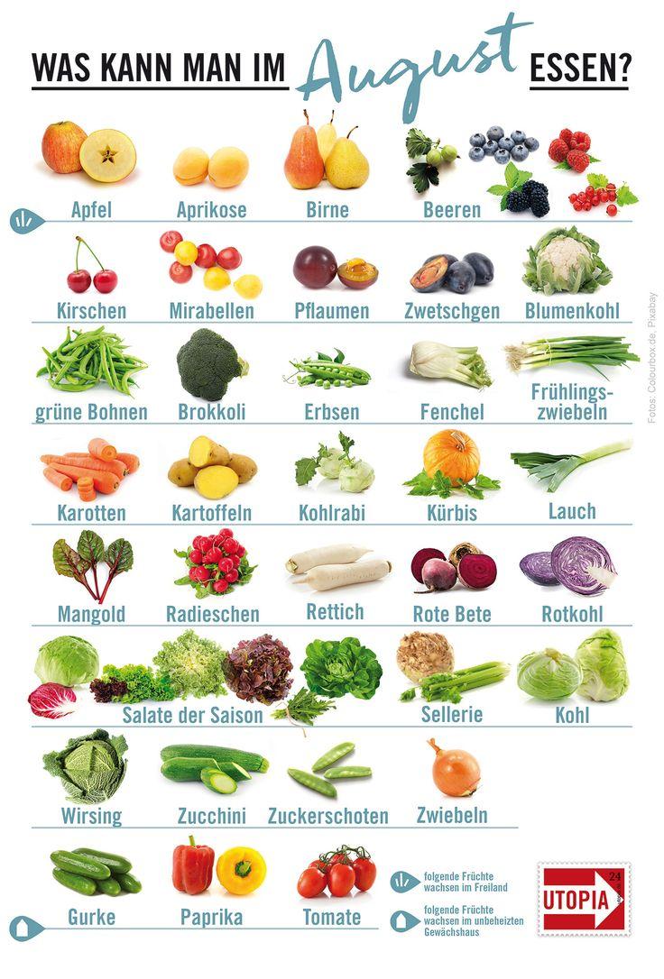 Saisonkalender: Dieses regionale Obst und Gemüse gibt's im August – utopia.de   nachhaltig leben
