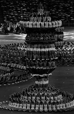 The opening ceremony of the XXI Summer Olympic Games, Moscow (1980)