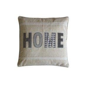 Biggie Best Grey Linen Home Cushion