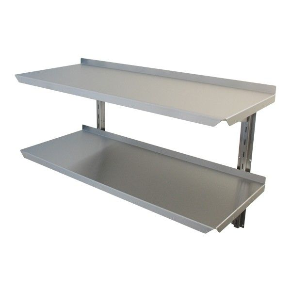 Stainless Steel Adjustable Wall Shelving Adjustable Wall