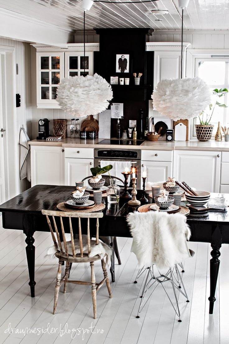 40 best Black Dining Table Ideas images on Pinterest | Black dining ...