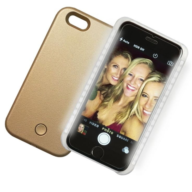 Introducing the Lux Ambition LED smartphone case for iPhone 6 and 6s Transform your selfies and enhance your live video chatting with the Lux Ambition LED phone case! ONLY $19.95