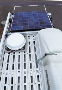 ソーラーシステムも搭載