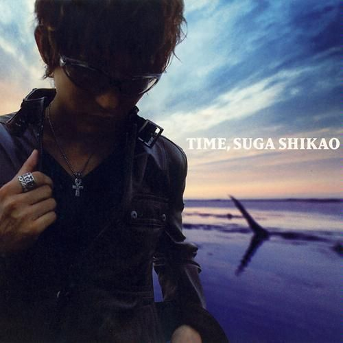 Suga Shikao - TIME   Tracklist 1. Sanagi (サナギ) 2. Karappo (カラッポ) 3. Hikari no Kawa (光の川) 4. Arcade (アーケード) 5. Climax (album version) (クライマックス (album version)) 6. June 7. Akubi (あくび) 8. Mahou (魔法) 9. Himitsu (秘密) 10. Kaze Nagi (風なぎ)  DVD Tracklist 1. -History of Suga Shikao 2004- 2. Himitsu (秘密) (PV) 3. Climax (クライマックス) (PV) 4. Hikari no Kawa (光の川) (PV)