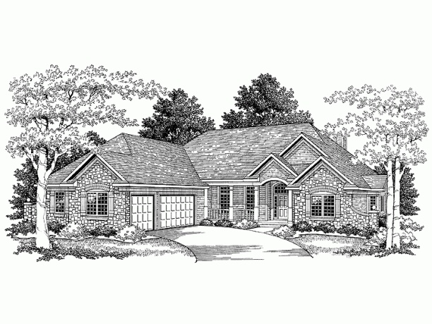 French country ranch new home ideas pinterest for French country ranch home plans