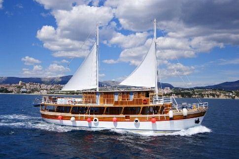 Typical A Class Ship | Adriatic Cruises | Balkan Escape