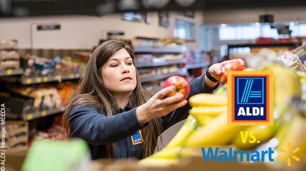 Aktuell! Typisch deutsch trifft auf typisch amerikanisch: Expansion von Aldi und Lidl alarmiert Walmart - http://ift.tt/2lq8K16 #nachricht
