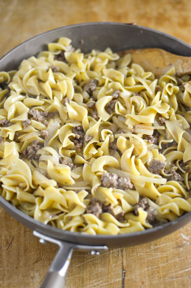Ground Beef Stroganoff Recipe In 2020 Dairy Free Cooking Dairy Free Dinner Ground Beef Stroganoff
