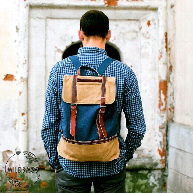 Мужские рюкзаки - Bork Sea Blue