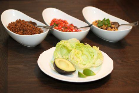 "Lettuce ""Tacos"" - Wild Rose Detox (D-Tox) [gluten-free, egg-free, peanut-free, dairy-free]"